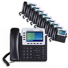 4 Line Phones grandstream gxp2140 10 pack